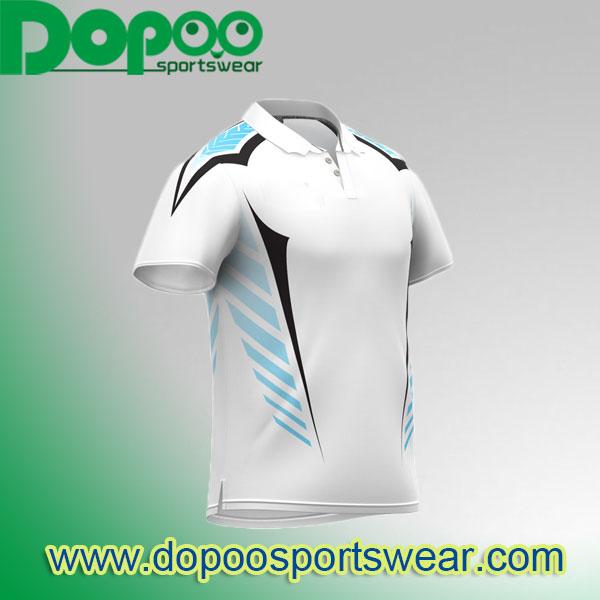 Custom Cricket Jerseys Sublimated Cricket Polos DPCJ016 Dopoo ... 93637d30e
