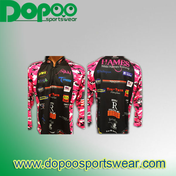 Fishing jersey dopoo sportswear ltd for Tournament fishing shirts