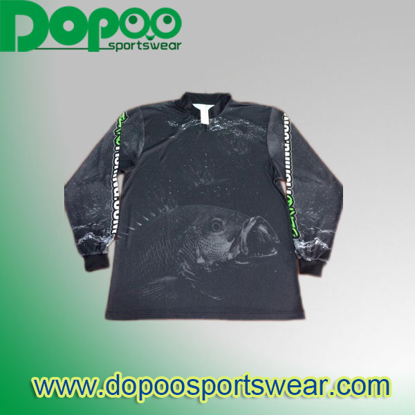 sublimated fishing shirts custom made wholesale tournament