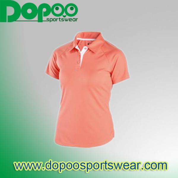 Oem China New Design Comfortable Women S Office Uniform Design Polo